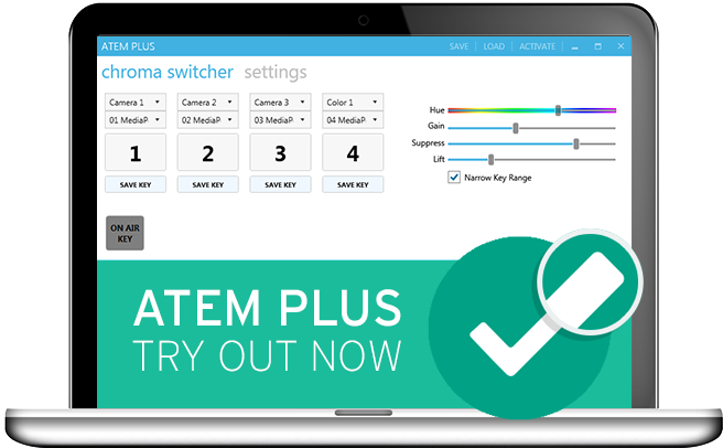 ATEM Plus software